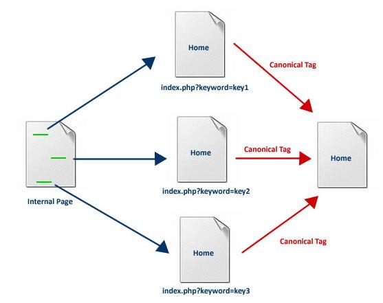 Canonical URL Şeması